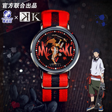 K-Project Anime LED Watch Waterproof Touch Screen Manga Role Yata Misaki Model Figure