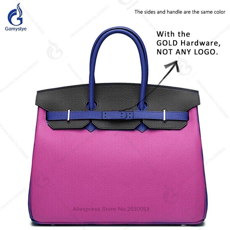 Hotsale Genuine Leather Retro Women Handbag Lady Big Totes Bag Laptop Classic Female Shoulder Bags Shopping Purse Panelled Bag цена