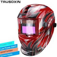 Li battery+Solar auto darkening filter welding helmets/eyes mask/welding cap for MIG MAG CT TIG  KR welding machine  цена 2017