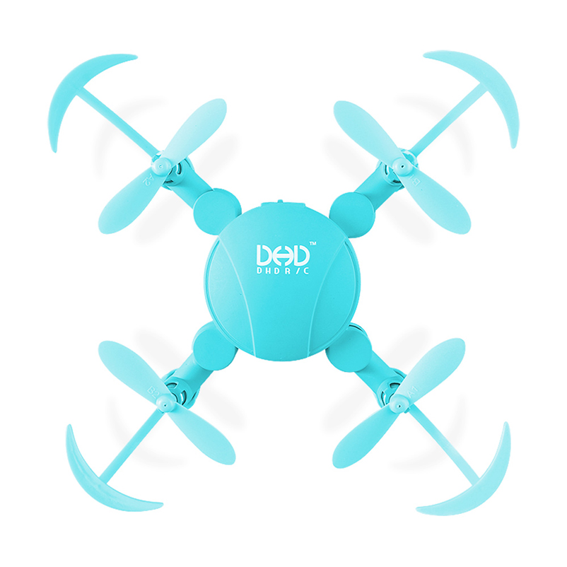 Newest JJRC DHD D4 Mini Pocket Foldable Drone Quadcopter 4 Channels 6-Axis Gyro WIFI RC FPV 720P Camera Altitude Mode jjrc h49 sol ultrathin wifi fpv drone beauty mode 2mp camera auto foldable arm altitude hold rc quadcopter vs e50 e56 e57