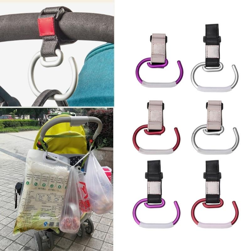 Universal Baby Stroller Hook Cart Shopping Bag Clip Hook Pushchair Hook Hanger #0713