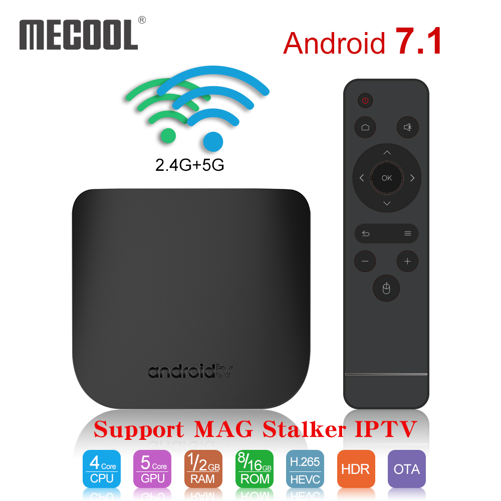 MECOOL M8S Plus X Smart 4K Android 7 1 TV Box Amlogic S905W Quad Core 1G