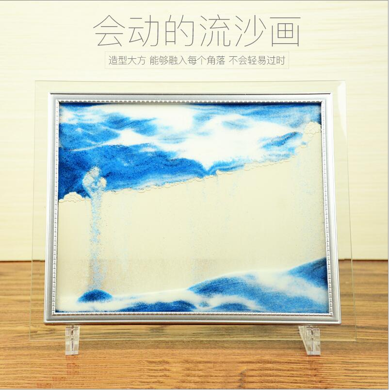 arte dinâmica líquido paisagem pintura moldura de