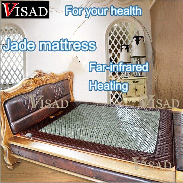 Бесплатная доставка Дальнего инфракрасное отопление jade матрас с Физической терапии отопление здравоохранения лучший подарок для родителей