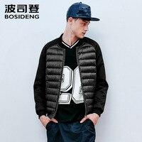 BOSIDENG down jacket for men down coat ultra light outwear casual wear high quality 90% duck down spliced Big Size B1501023