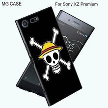 Popular Japanese Anime One Piece Phone Cases For Sony XZ Premium Xperia XZ  Z5Premium Z5 X Performance Xperia X XA Cover Shell