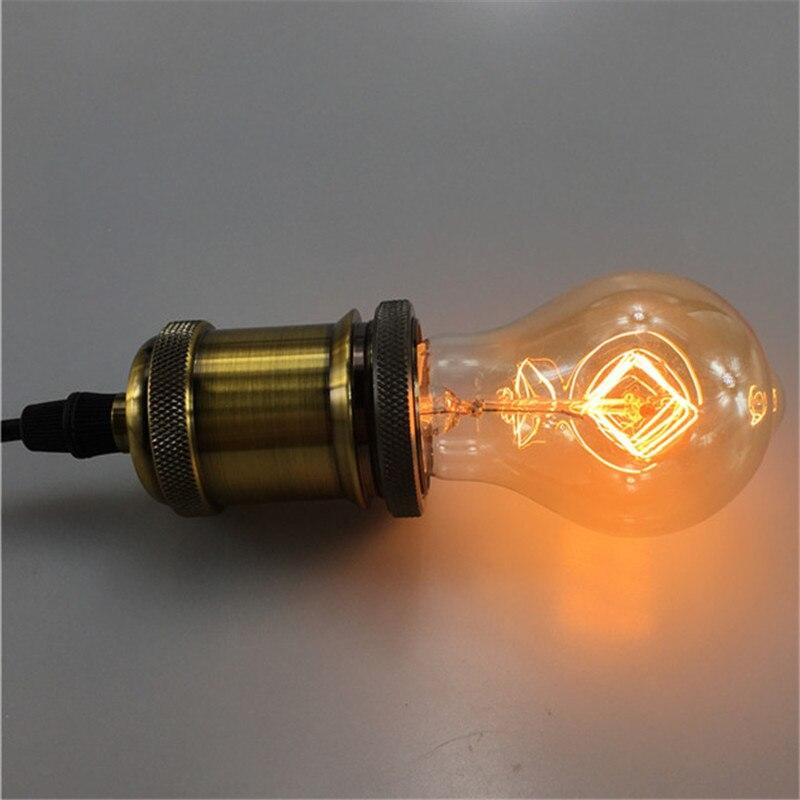 40W Classical Vintage Retro A19 Style Edison Bulb Light Warm White 110V 220V E27 Filament  Antique Incandescent Bulb Lamp