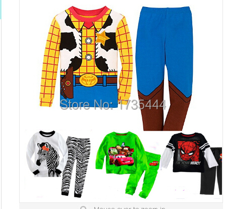 1cb888c64e toy story woody costume infantil baby sleepwear clothing set toddlr baby  kids boys pyjamas children pajamas outfit set-in Pajama Sets from Mother    Kids on ...