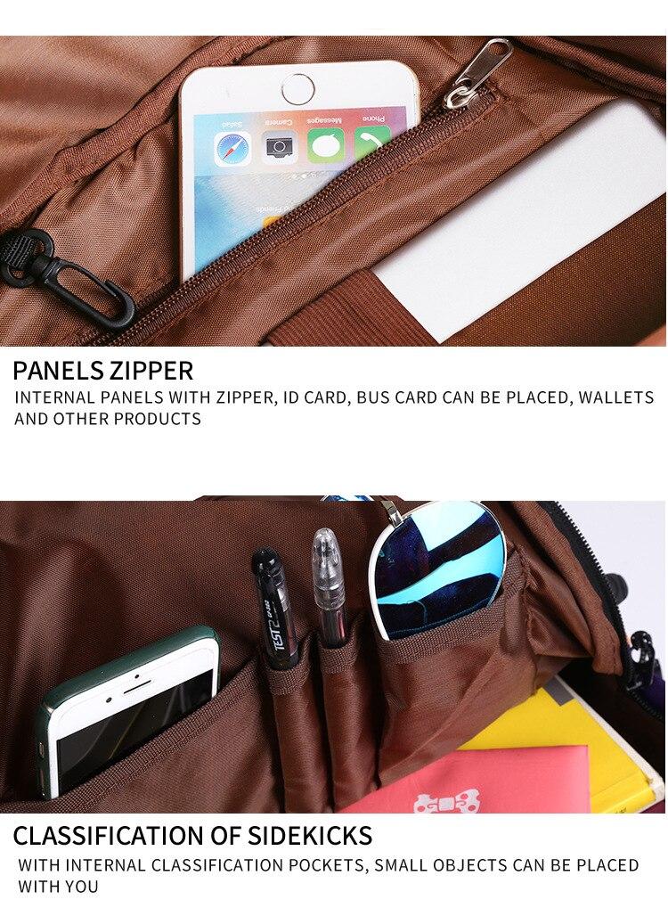 Unicorn 3D Printed Casual School Backpack Women Set 23