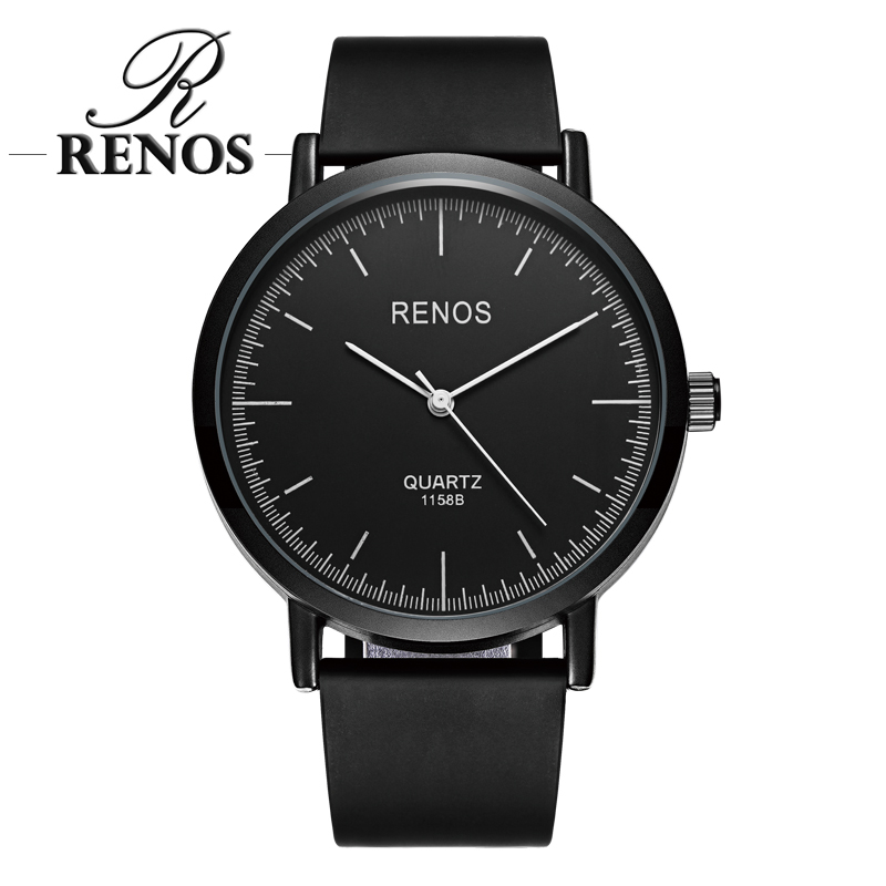 RENOS Horloges Dames Met Exquisite Hot Simple Zwart Wit Horloges Fashion Casual Dameshorloge relogio masculino relogio