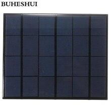 BUHESHUI 6V 3.5W Mini Solar Panels Small Solar Power 3.6v Battery Charge Solar Led Light Solar Cell Epoxy 165*135MM 10pcs/lot