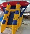 B018 de Excelente calidad y precio barato inflable flyfish banana/Tubo Remolcable Pez Volador Inflable de Lona de PVC