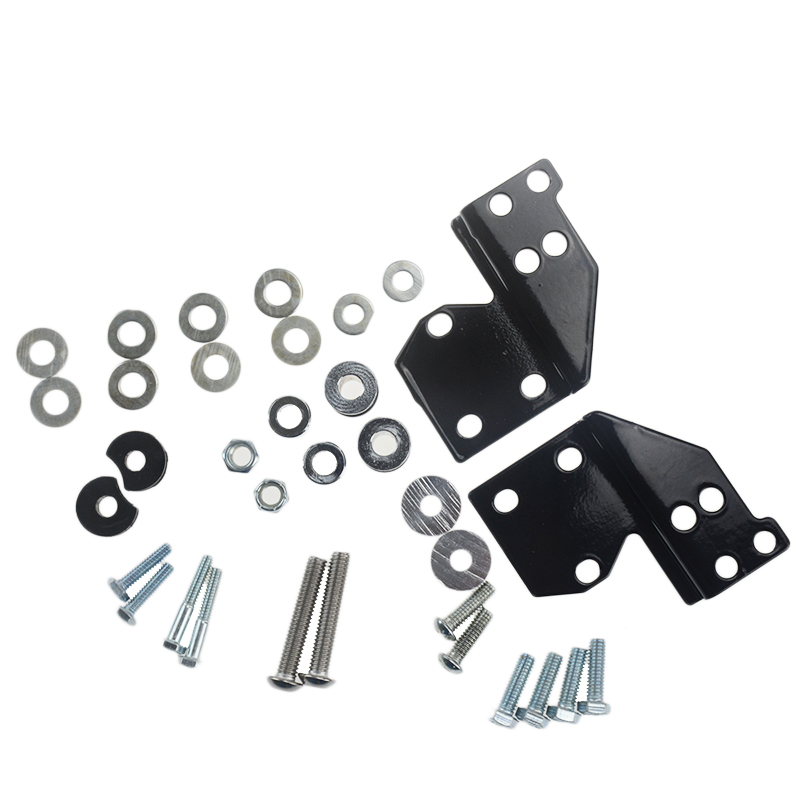 цены Detachables Front Docking Hardware Kit For Harley Road King Electra Street Glide 1997-2008