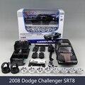 Dg challenger srt8 1:24 liga veículo de brinquedo modelo de montagem diy modelo de liga de brinquedo de simulação de fábrica de montagem de automóveis para a coleta de presente