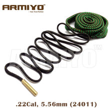 Armiyo Boring Snake. 22Cal 5.56mm Rifle Vat Cleaner Pistool Boring Reiniging Sling Kit 24011 Jacht Airsoft Schieten Accessoires(China)