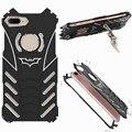 R-JUST Batman 6061 Алюминиевый Ударопрочный Рама Стенд Metal Case Cover для iPhone 7 7 Plus