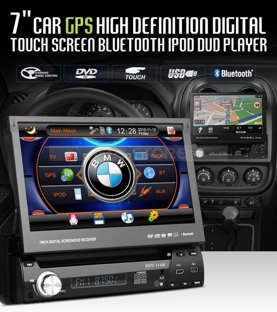 Car DVD Player GPS 7011 Universal 1 DIN