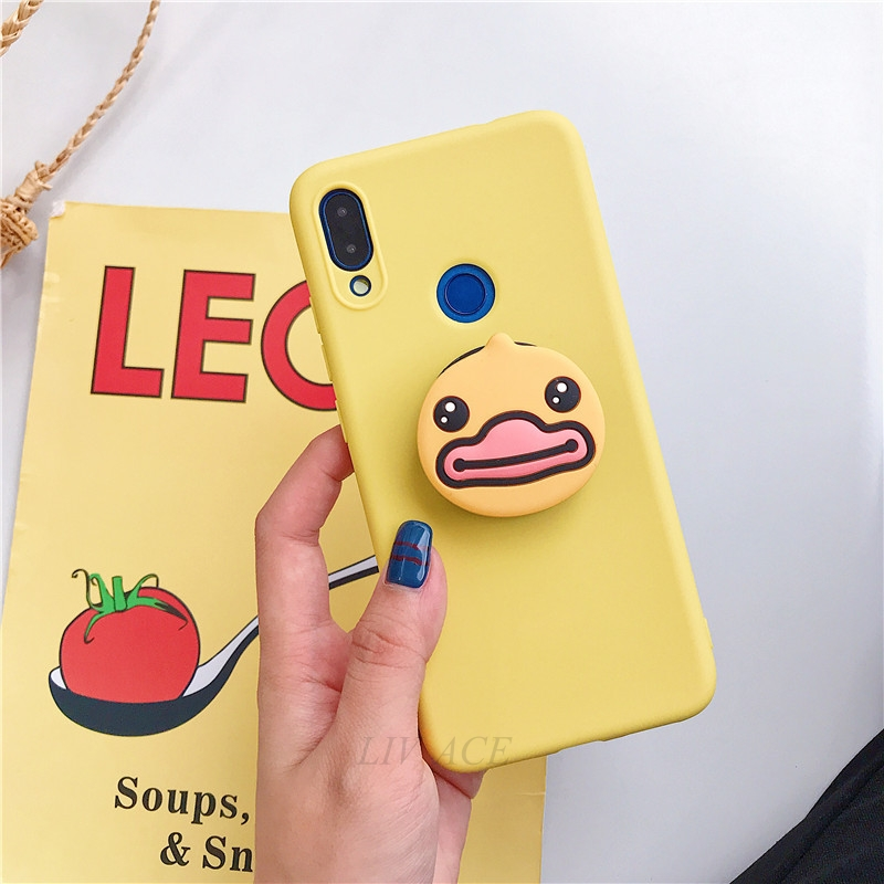 3D Cartoon Phone Holder Standing Case for Xiaomi Redmi Phone Made Of High-Quality Silicone And TPU Material 17