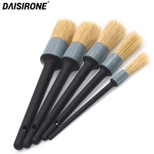 5PCS Car Detail Brush Set Scratch free for Interior and Exterior Detailing Dashboard Engine Air Vent