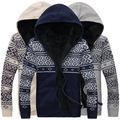 Fashion Men's Sweaters Coats Cotton Long Sleeve Mens Winter Sweaters Hooded Knitted Casual Sweaters Wholesales