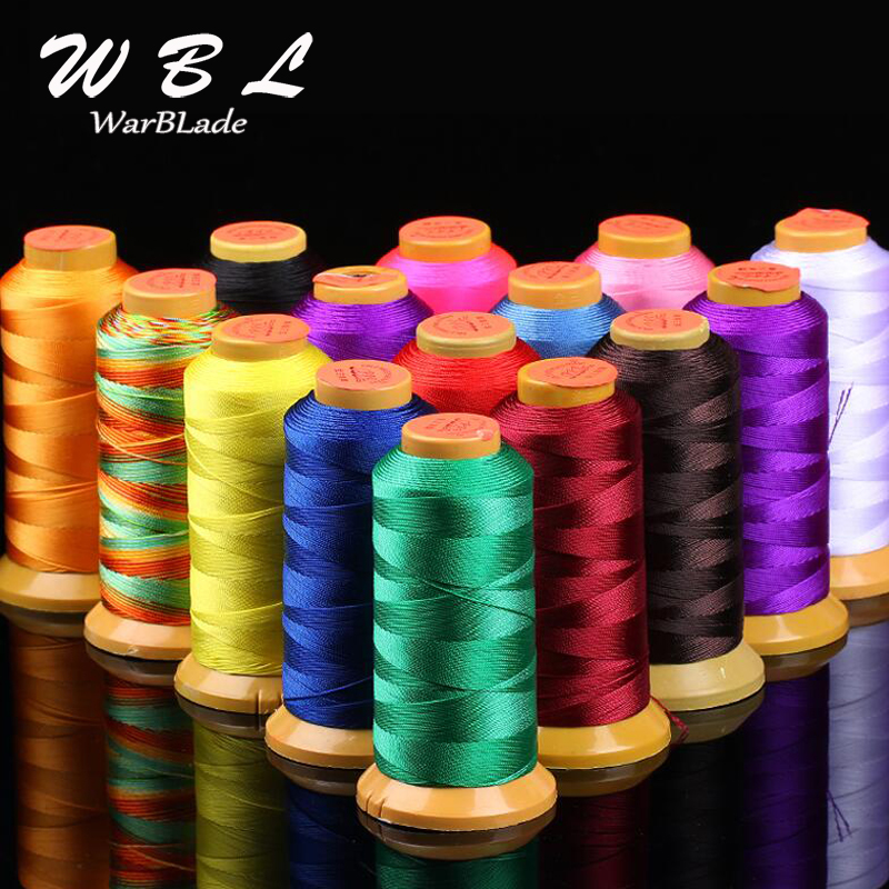 High Quality Polyamide Cord 0.2mm 0.4mm 0.6mm 0.8mm 1mm Nylon Cord Sewing Thread For Rope Silk Beading String DIY Jewelry Making