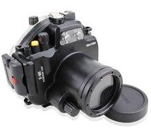 40M Waterproof Underwater Camera Housing Case Bag for Olympus OMD EM5 Camera 12-50mm Lens