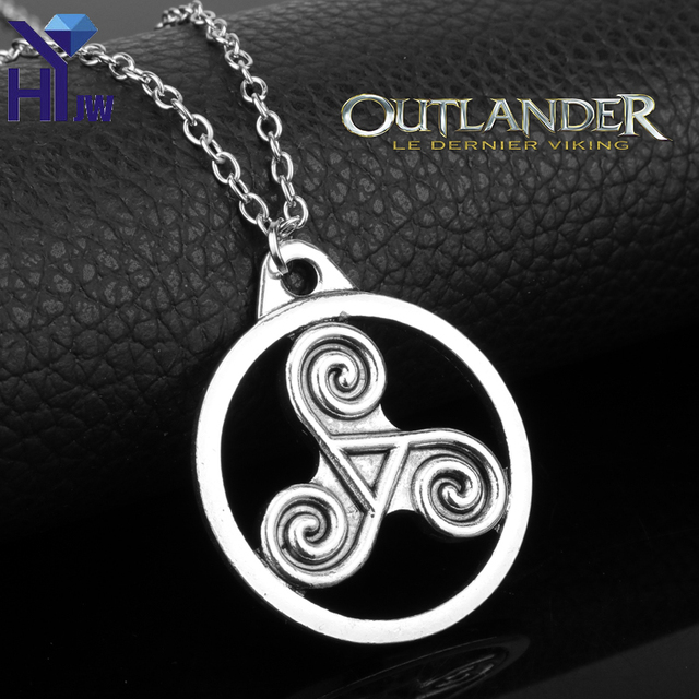 Heyu Outlander Antique Holy Trinity Symbol Celtic Border Trinity