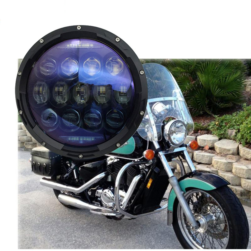 7 inch harley daymaker led headlight Hi/ Lo Beam for Harley Davidson Motorcycle projector led lamp for Jeep Wrangler JK CJ 7 inch headlight h4 motorcycle round led headlamp daymaker hi low beam head light bulb drl for harley jeep wrangler