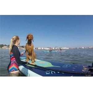 Image 4 - 370*82*15CM AQUA MARINA SUPER REISE aufblasbare sup stand up paddle board aufblasbare surf board surfbrett aufblasbare kajak kamera