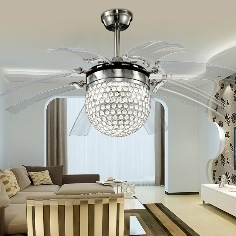 Compare Prices on Ceiling Fan Crystal Chandelier Online Shopping