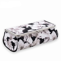 Brand New Chinese Style Women Makeup Bag With Mirror Portable Lipstick Cosmetic Box Makeup Organizer Toolbox