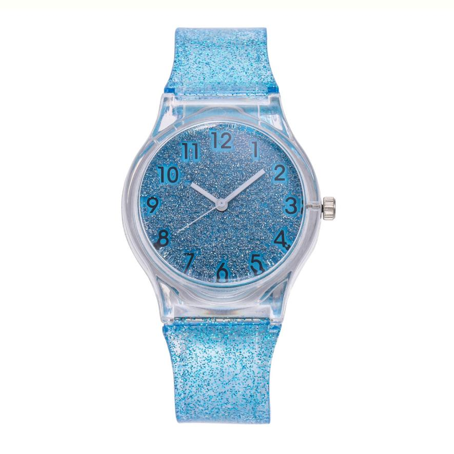 2018 Fashion Simple Women Watch Women Female Casual Quartz Watch Plastic Band Wrist Watch Montre Femme saat erkekle A30