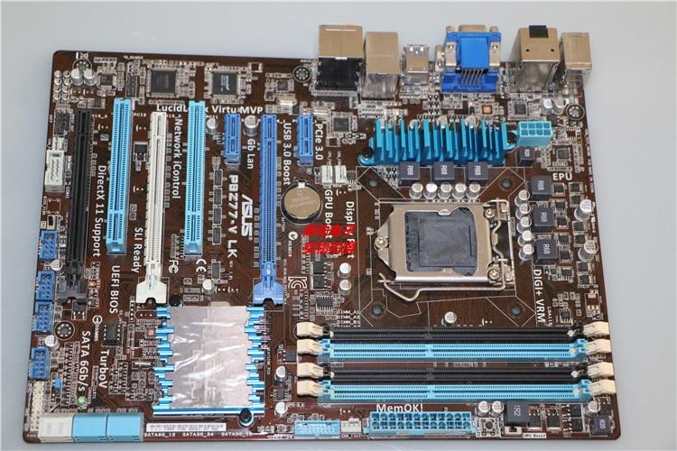 Free shipping original motherboard for P8H77-V LE LGA 1155 DDR3 for i3 i5 i7 cpu 32GB USB2.0 USB3.0 H77 Desktop motherboard original motherboard for asus p8h77 v le ddr3 lga 1155 for i3 i5 i7 cpu usb3 0 32gb h77 desktop motherboard free shipping