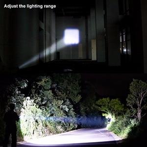 Image 5 - COB LED Flashlight Super Bright Waterproof Handheld Flashlights Torch Pocket Work Light for Emergency Lighting By 1xAA Battery