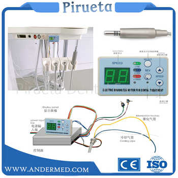 Dental unit built-in Brushless Electric Micro motor Cord FIT NSK NLX NANO inner water spray with fiber optic - DISCOUNT ITEM  9% OFF All Category