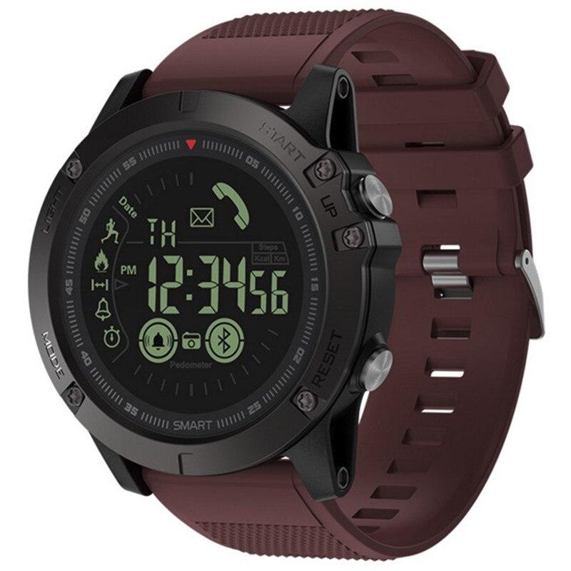 Outdoor Sports Smart Watch Digital Wristwatch Monitor Smart Bracelet Water Resistant Pedometer Bluetooth Waterproof Wristband цена и фото