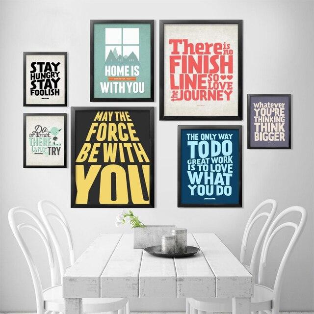 Affiche decoration bureau id e inspirante - Cuadros para oficina ...