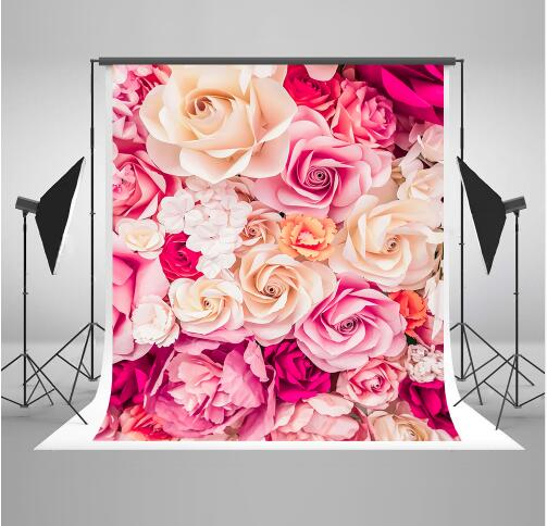 Kate Flower Valentines Day Kids Photography Backgrounds Customize Flowers Backdrops Wedding Backdrops For Photography Studio