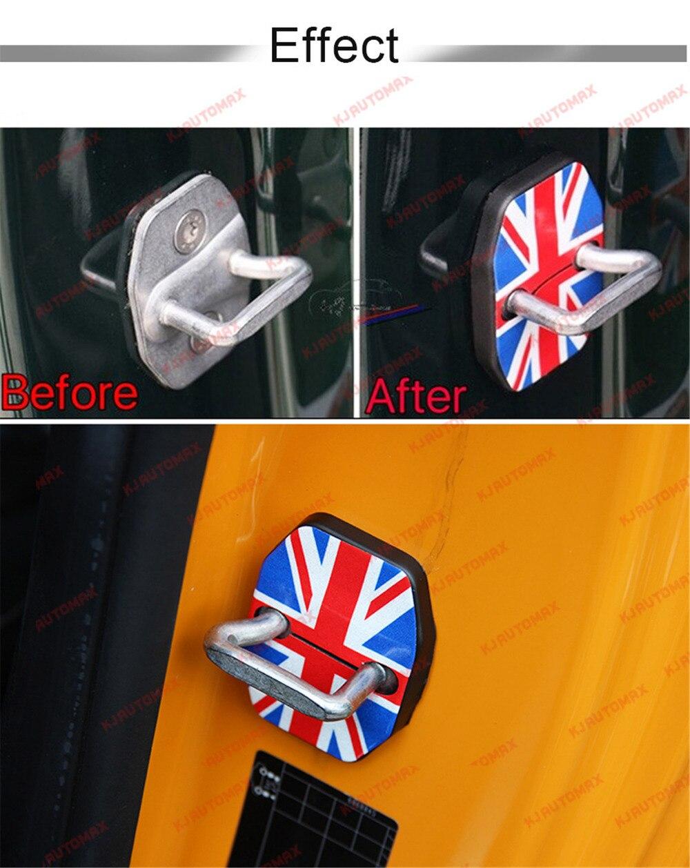 Автомобильный Стайлинг для Mini Cooper F55 F56 дверной замок с пряжкой защитная оболочка персональные аксессуары