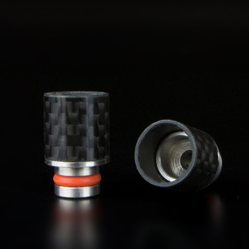 ugljični vlakno Široki provrti usnika za usta Tip za kapanje 510 - Elektronske cigarete - Foto 2