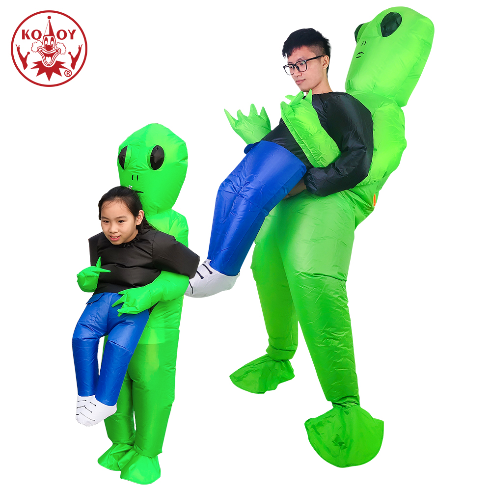 Inflatable Alien Costume Halloween Costume for Adult Kid Monster Cosplay Inflatable suit