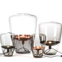 Nordic floor lamp Brokis Balloons glass floor lamp bedroom bedside lamp for living room study standing lamp light fixtures