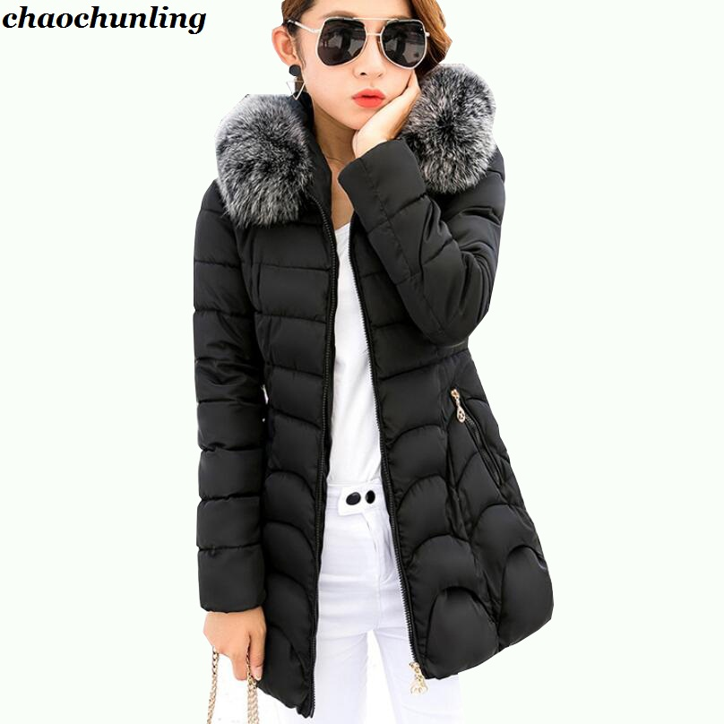 Korean Most Popular Down Jacket With Imitation Fox Fur Hat 2017 New Winter Lady Fashion Long Lady Hooded High Quality Coats england style 2017 new winter lady hooded balls jackets pink red black gray and blue lady down jackets imitation fox fur hat