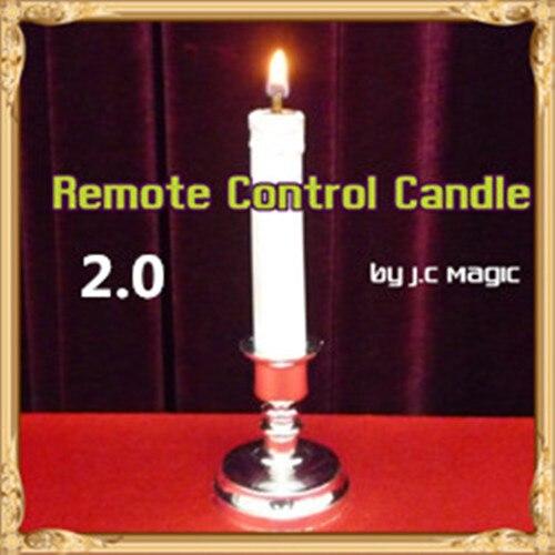 Bougie télécommandée 2.0 par J.C magie scène tours de magie Illusions parti magie spectacle mentalisme Magia jouets blague Gimmick - 2