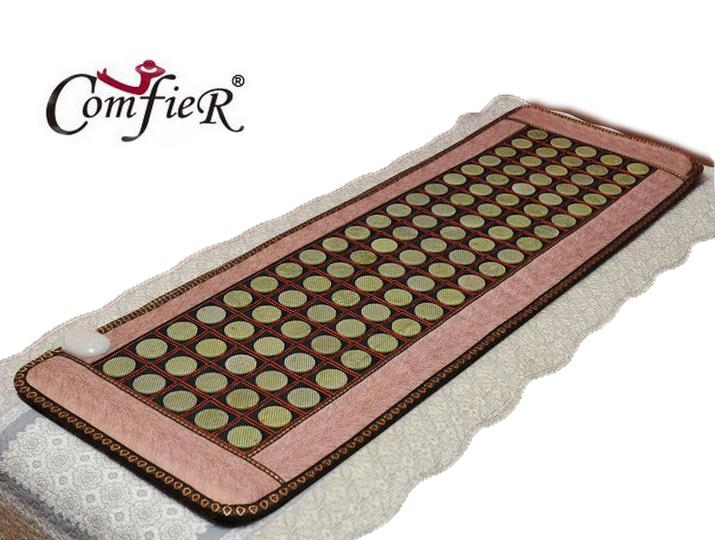 2016 High Sale Infrared Heated Tourmaline/Germanium Stone Massage Mat Korea Mattress Heating Massage Korea Tourmaline Mat 2016 electric tourmaline heating mat natural korea tourmaline germanium thermal mattress free shipping 1 2 1 9m