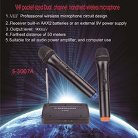 2 ways Pocket size Tiny Small Portable Classroom VHF Wireless Microphone For Teachers professional megaphone for advertising