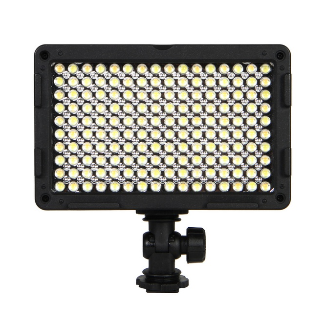 NanGuang CN 160CA Photographic Light Bi color LED on camera light video light for camcorder dv