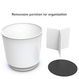 Image 1 - Вращающийся держатель для посуды Caddy со съемным разделителем и захватываемой вставкой без наконечников