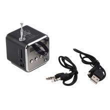 Portable Mini Stereo Bass Speaker FM Radio