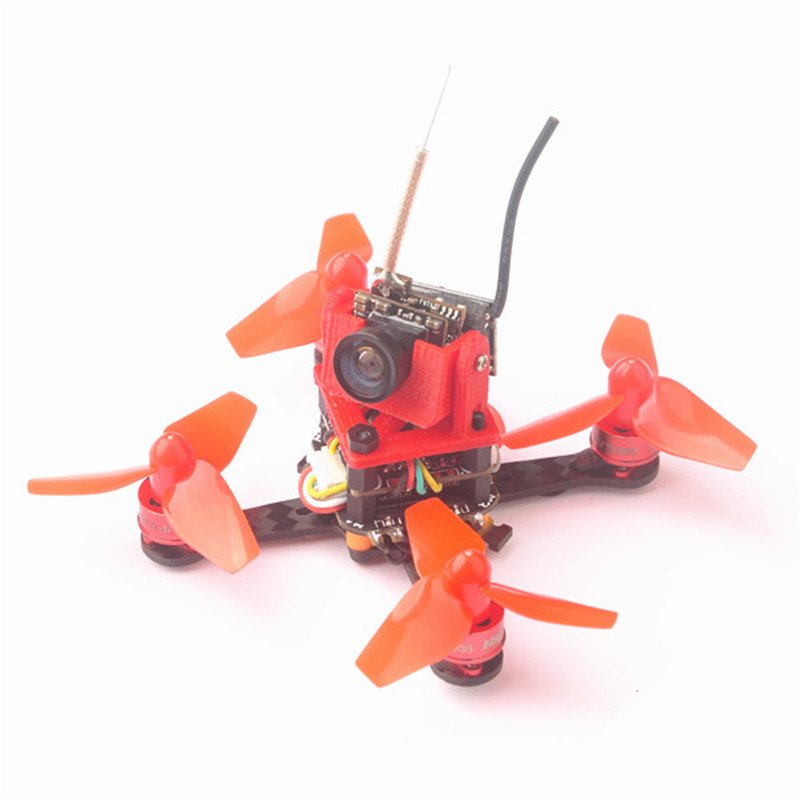 Hot New Cute66 66mm Wheelbase Teeny F4 OSD Brushless DIY 5.8G FPV Racing Drone w/ 600TVL Camera BNF Version Toy Multi Dron